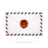 Envelope with stamp Stock Photography