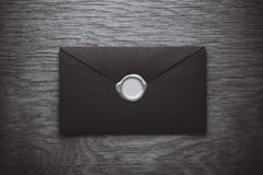 Envelope with a stamp Royalty Free Stock Image