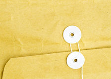 Envelope and string Stock Photography
