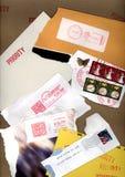 Envelope Texture Royalty Free Stock Photos