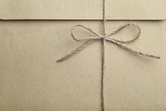 envelope tied with string Royalty Free Stock Photo