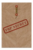 Envelope top secret Stock Images