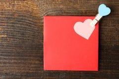 Envelope Valentine's Day Stock Photography