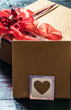 the envelope on Valentine Royalty Free Stock Photography