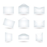 Envelope variation shadow Royalty Free Stock Photography