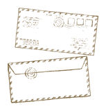 Envelope. Vector drawing Stock Photography