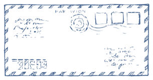 Envelope. Vector drawing Royalty Free Stock Image