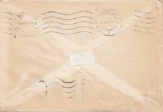 Envelope velho Fotografia de Stock