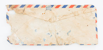 Envelope velho Fotos de Stock Royalty Free