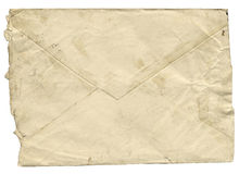 Envelope velho Fotografia de Stock Royalty Free