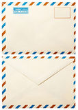Envelope velho com   Imagem de Stock Royalty Free