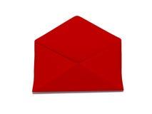 Envelope vermelho Imagem de Stock Royalty Free