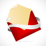 Envelope on a white background Royalty Free Stock Images