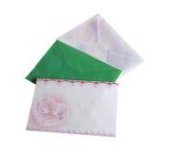 Envelopes fotografia de stock