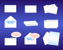 Envelopes stock images