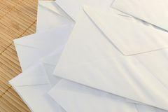 Envelopes Royalty Free Stock Photos