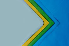 Envelopes. A few post envelopes of different colours Royalty Free Stock Images