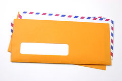 Envelopes without address Royalty Free Stock Photography