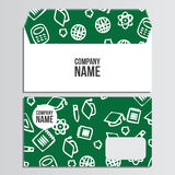 Envelopes with back to school pattern. Back to school branding b Stock Photos