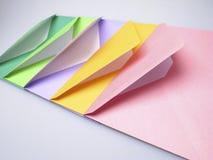 Envelopes coloridos imagem de stock royalty free
