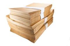 Envelopes de papel da pilha Fotos de Stock