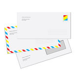 Envelopes do correio Imagem de Stock Royalty Free