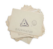 Envelopes do vintage Foto de Stock Royalty Free