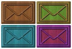 Envelopes, emayl Stock Photos