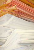 Envelopes empilhados Foto de Stock Royalty Free