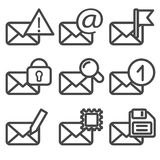 Envelopes Icons Vol2 Royalty Free Stock Image