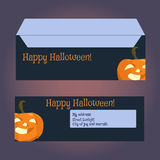Envelopes for letters, front and back. Stock Images
