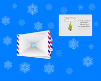 Envelopes for letters Royalty Free Stock Images