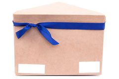 Envelopes with letters perevyazanye ribbon with a bow on the iso. Lated white background Royalty Free Stock Photo