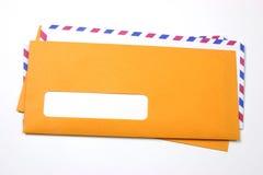 Envelopes sem endereço Fotografia de Stock Royalty Free