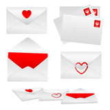 Envelopes Set 1 - Love Stock Photo