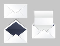 Envelopes set of corporate identity templates. Business office Royalty Free Stock Photo