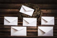 Envelopes Royalty Free Stock Photography