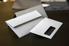 Envelopes with window Stock Images