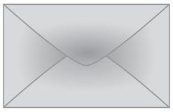 Enveloppe Photo stock