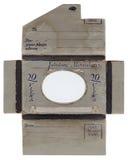 Enveloppe antique de photo photographie stock libre de droits