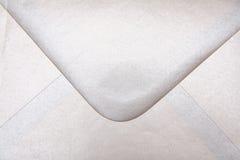 Enveloppe argentée Photo stock