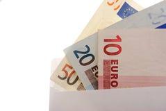 Enveloppe avec de l'argent Photo libre de droits