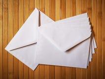 Enveloppe blanc images stock