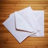 Enveloppe blanc images libres de droits