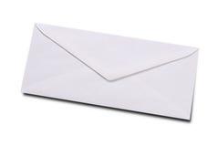 Enveloppe blanche ordinaire photographie stock libre de droits