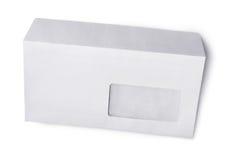 Enveloppe blanche pour la correspondance photo stock