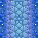 Enveloppe bleue illustration de vecteur