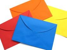 Enveloppe colorée - 3 Image libre de droits