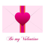 Enveloppe d'amour Image stock