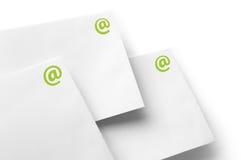 Enveloppe d'email de transmission Photographie stock libre de droits